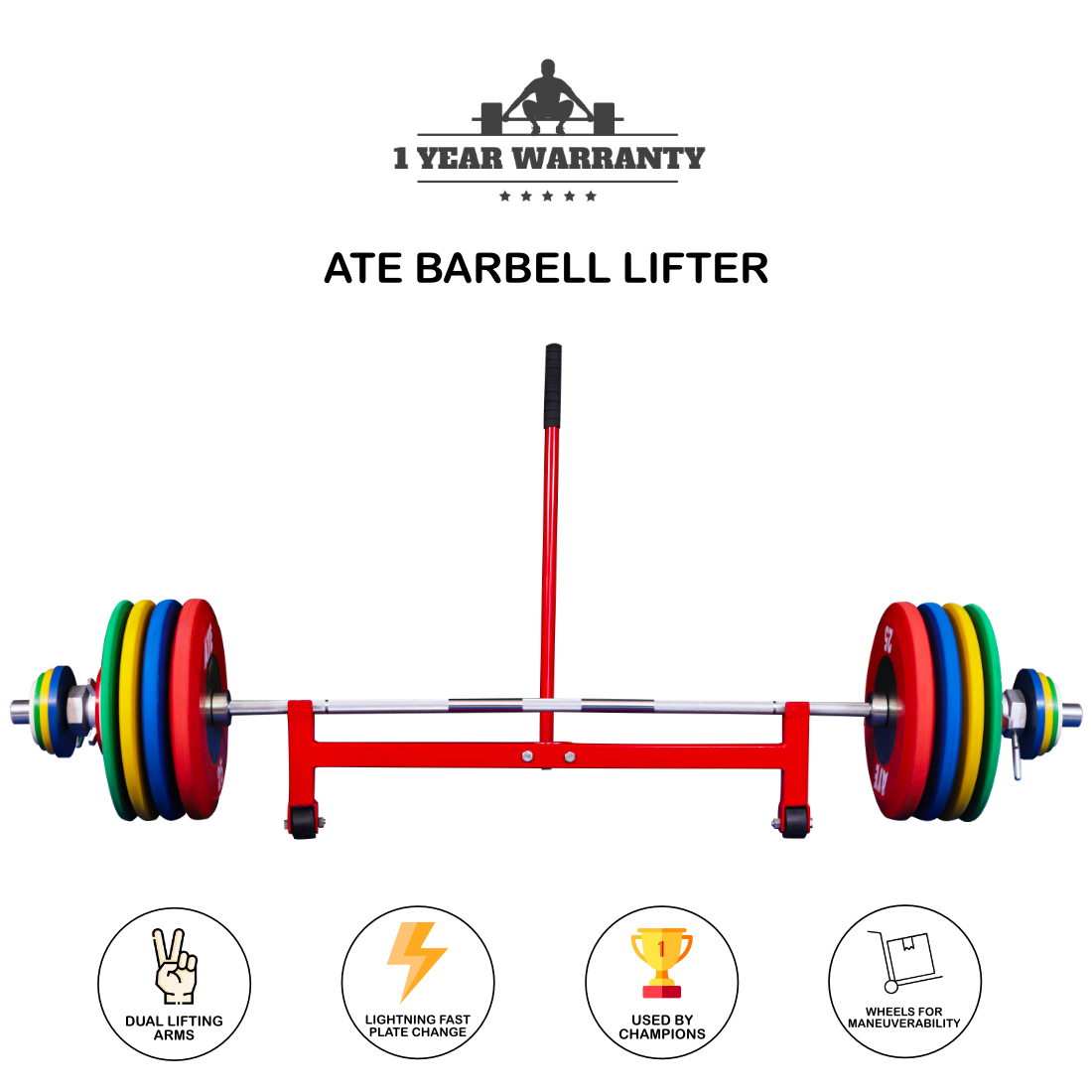 ATE barbell lifter
