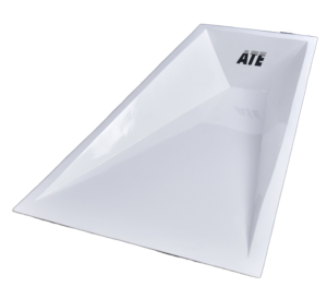 ATE Pole vault box aluminium