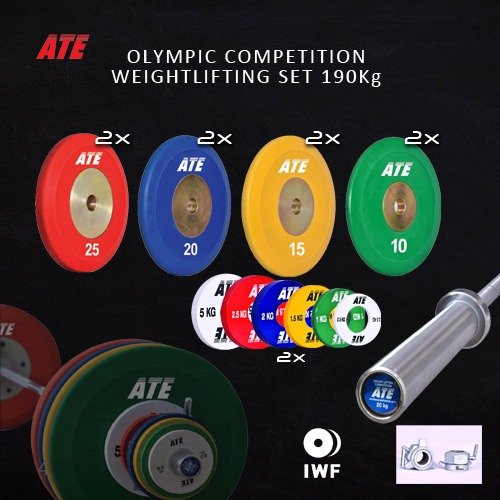 ATE weightlifting set