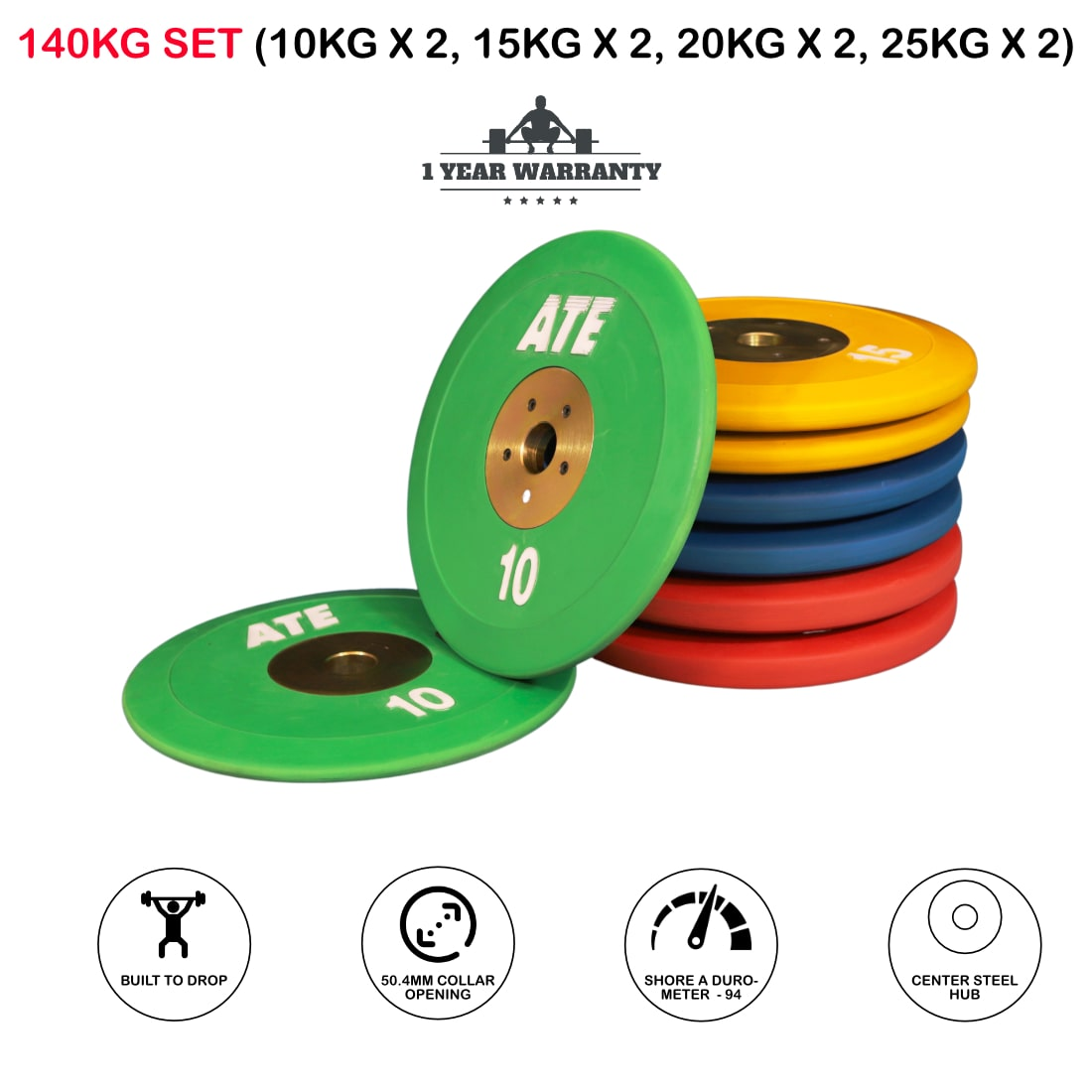 ATE Competition Bumper Plates