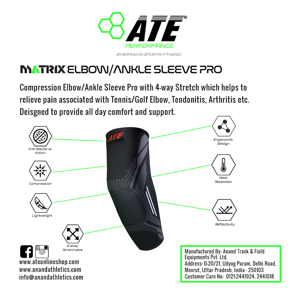 ATE Elbow/Ankle Sleeve Pro