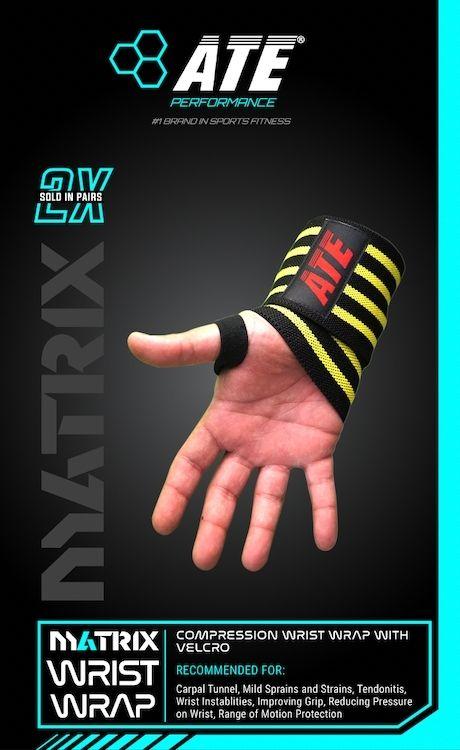ATE Matrix Wrist Wrap